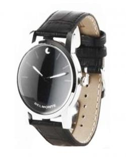 Belmonte Mens Black Dial Watch