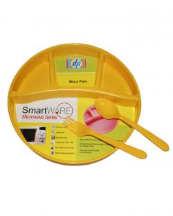 Smart Ware Micra Plate (Yellow)