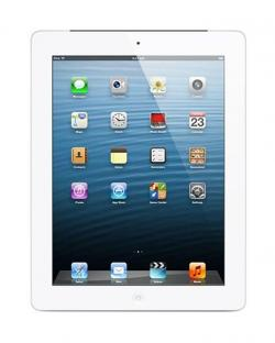 Apple iPad 64GB with Retina Display and Wi-Fi Cellular (White)