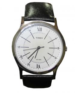 Timex Mens White Dial Watch