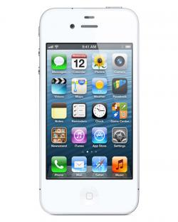 Apple I Phone 4S 8GB Gsm (White)