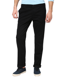 Yepvi Black Trouser For Men