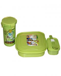 Kids Lunch Box Set (Green)