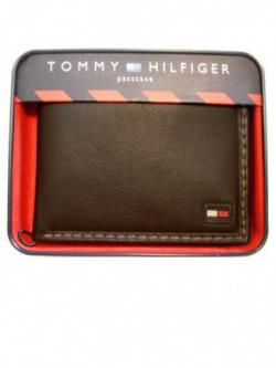 Tommy Hilfiger Mens Wallet (brown)