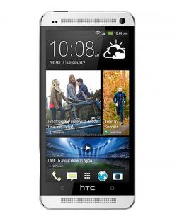 HTC One 802d Dual SIM Mobile Phone(Silver)