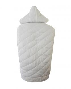 Adidas men Sleeveless White Jacket