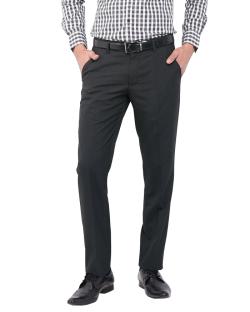 Yepvi Charcoal Grey Formal Trouser For Men