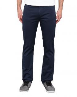 Yepvi Cobalt Blue Slim Fit Trousers For Men