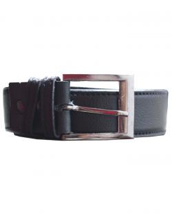 Mens classic leather belt (Black)