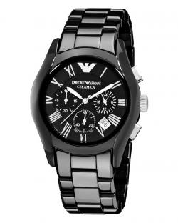 Imported Emporio Armani -AR1400 Ceramic Black Chronograph Dial Watch