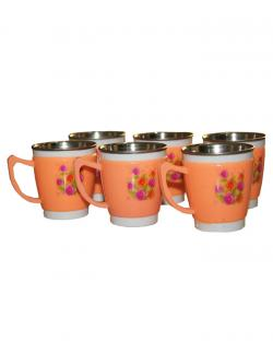 Tea & Coffee Cup Set (Orange)