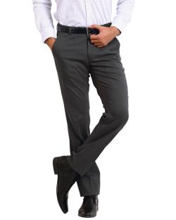 Yepvi Grey Formal Trouser For Men