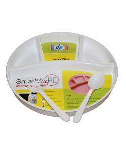 Smart Ware Micra Plate (White)