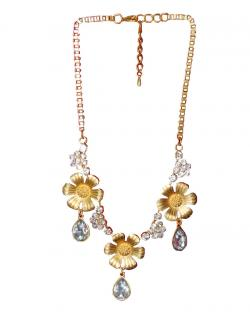 Fashion Jewellery Pearl Patterned Necklace
