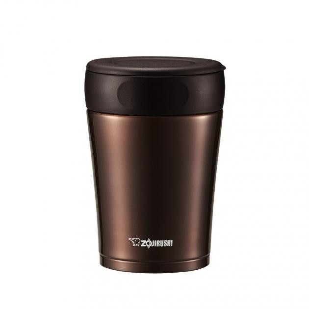 Zojirushi 360ml food jar sw gce 36 ta nut brown containers zoom forumfinder Image collections