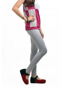 ViQ Ladies Long Pants (Light Grey)