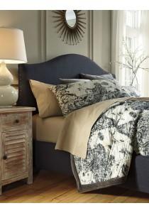 Kasidon Camelback Bed Frame (King)