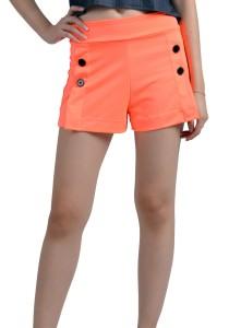 ViQ Button Shorts (Orange)
