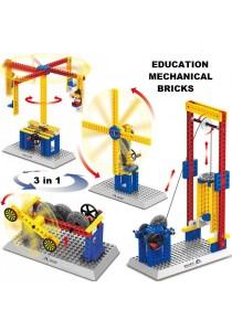 Wange Lego Compatible Mechanical Bricks Kids Educational Engineering-1302