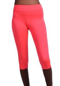 ViQ Knee Length Sports Pants (Bright Peach)