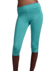 ViQ Knee Length Sports Pants (Light Sea Green)