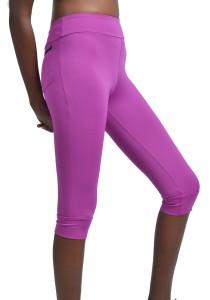 ViQ Knee Length Sports Pants (Purple)