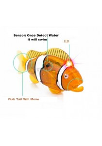 LED Robot Robo Fish Auto Swim Creative Toys Special Gift Present