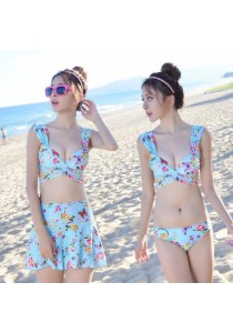 Colourful Flower Bikini SHEL-B0030