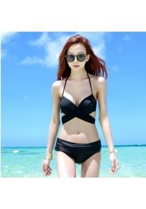 Black Modern Trend Two Piece Bikini