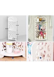 Acrylic Bathroom Toilet Kitchen Rack Cabinet Organizer Washable