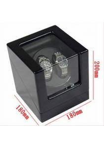 Auto Rotate Watch Winder Watch Box Single Winder (B2+0) Black Black