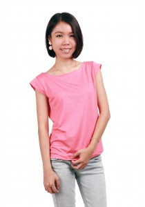 ViQ Flutter Sleeve Tee (Red)