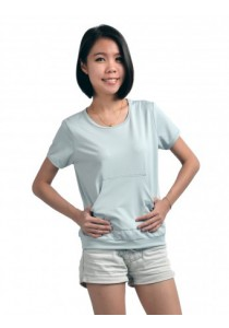 ViQ Muff Tee (Light Grey)