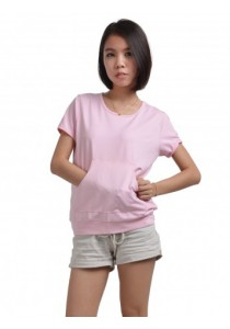 ViQ Muff Tee (Light pink)
