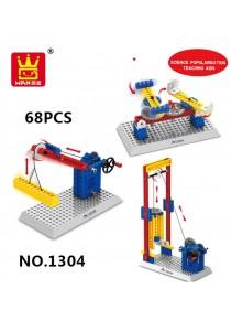 Wange Lego Compatible Mechanical Bricks Kids Educational Engineering-1304