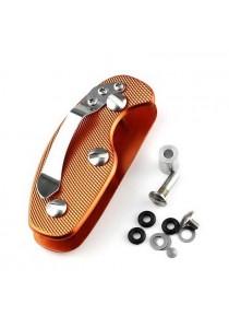 Portable Smart Key Chain Holder Pocket EDC Gear (Orange)