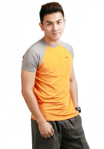 ViQ Men Athlete Tee (Orange)