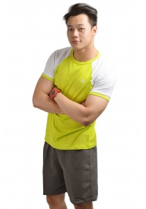 ViQ Men Athlete Tee (Highlight Green)