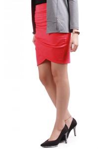 ViQ Wrap Skirt (Red)