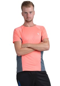 ViQ Men's Sport T-Shirt (Orange Grey)
