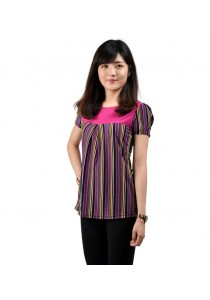 VIQ Princess Sleeve Tee (Purple)