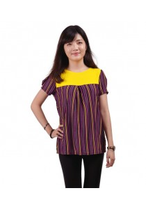 VIQ Princess Sleeve Tee (Yellow)