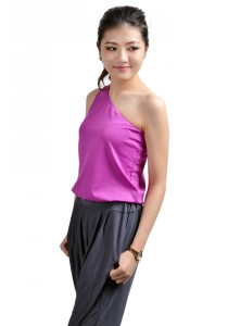 ViQ Tarzan Cropped Top (Purple)