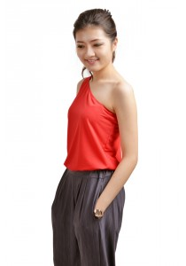 ViQ Tarzan Cropped Top (Red)