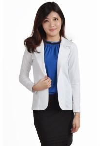 ViQ Casual Coat (White)