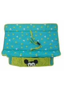 Disney Cuties Baby Mickey Playpen with Playpen Diaper Change (Turquoise)