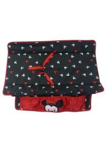 Disney Cuties Baby Mickey Playpen with Playpen Diaper Change  (Red)
