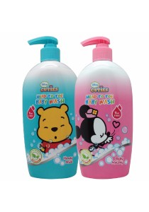 Twin Pack Head to Toe Baby Wash 750ml Twins Pack (Melody/Honey Milk)