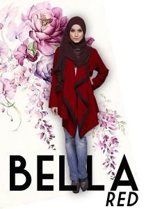 Fiera Design Bella Cardigan in Red