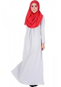 MyTrend Sahara Jubah Dress (Dark Slate Grey)